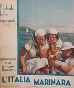 L'ITALIA MARINARA. RIVISTA MENSILE DELLA LEGA NAVALE ITALIANA.