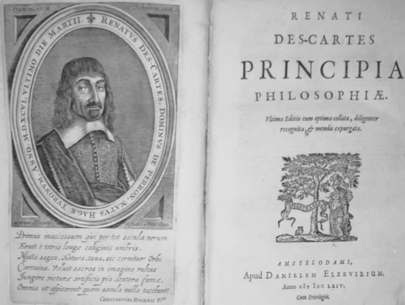 PRINCIPIA PHILOSOPHIAE (seguito da ) PASSIONES ANIMAE PER RENATUM DES CARTES GALLICE AB IPSO CONSCRIPTE (...)