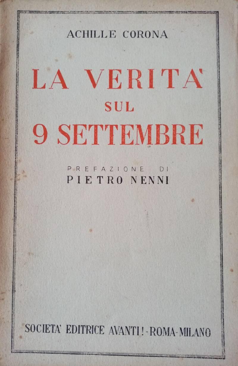 La verità sul 9 settembre