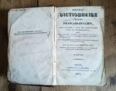NOUVEAU DICTIONNAIRE DE POCHE FRANCAIS-ITALIEN - NUOVO DIZIONARIO ITALIANO FRANCESE
