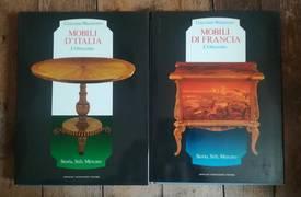 Mobili d'Italia : l' Ottocento seguito da Mobili di Francia : l' Ottocento