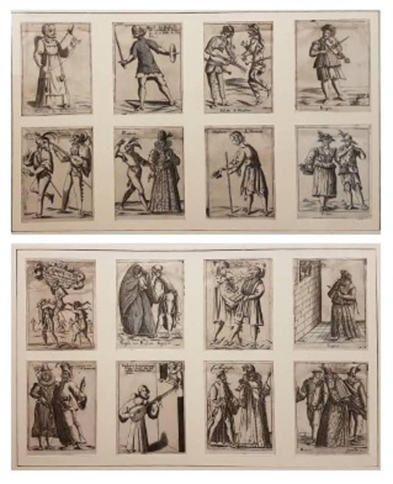 IL CARNEVALE ITALIANO MASCHERATO ove si veggono in Figura Varie Inventione di Capritii