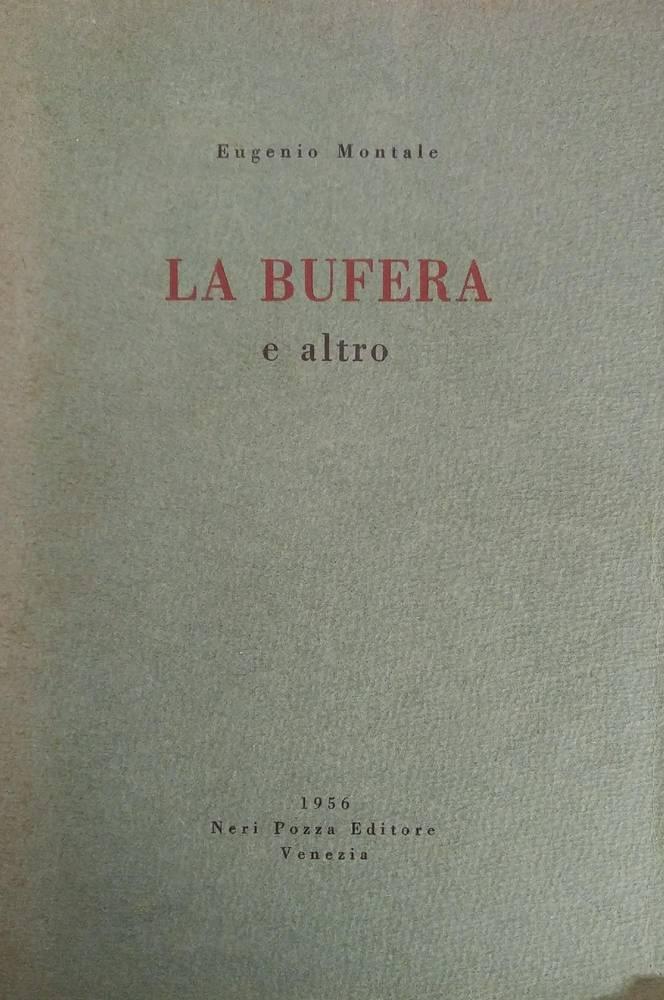 LA BUFERA. E ALTRO