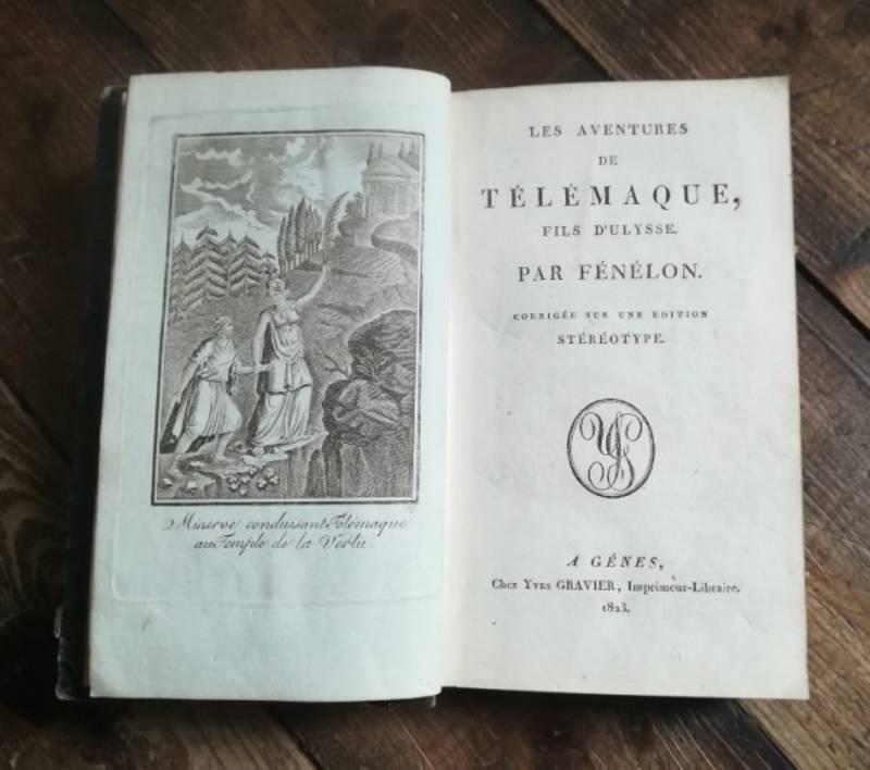 LES AVENTURES DE TELEMAQUE FILS D'ULYSSE