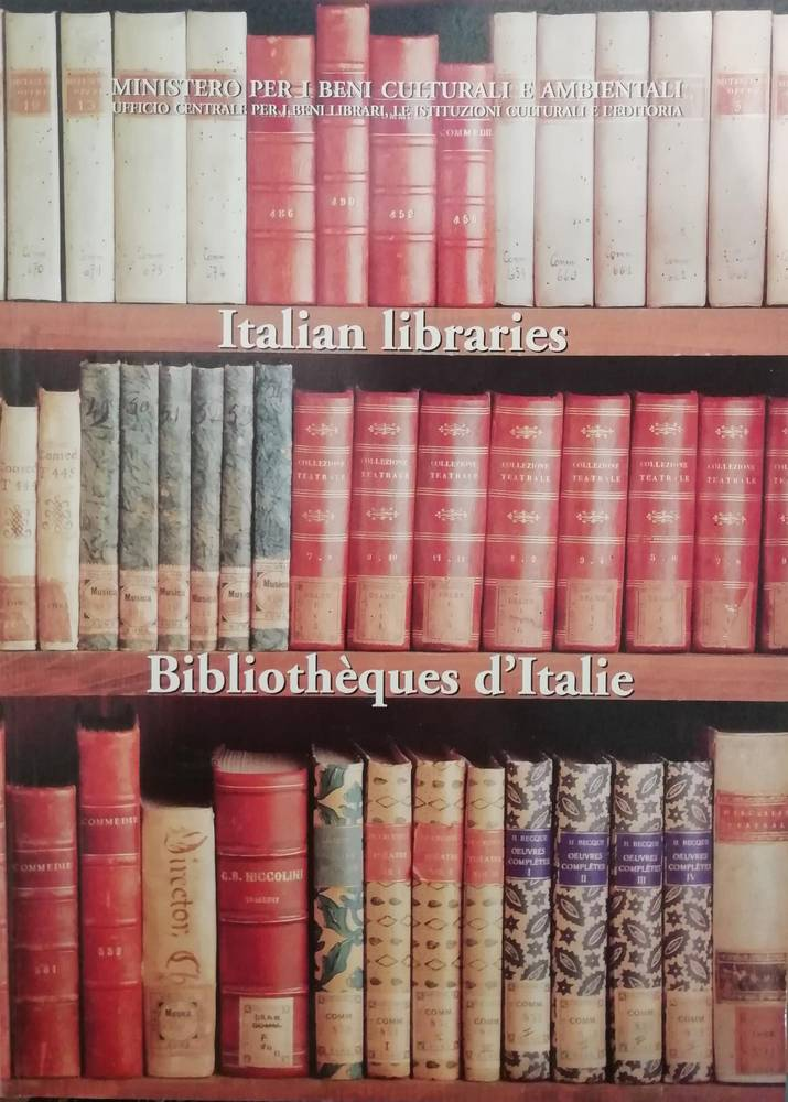 ITALIAN LIBRARIES. BIBLIOTHEQUES D'ITALIE