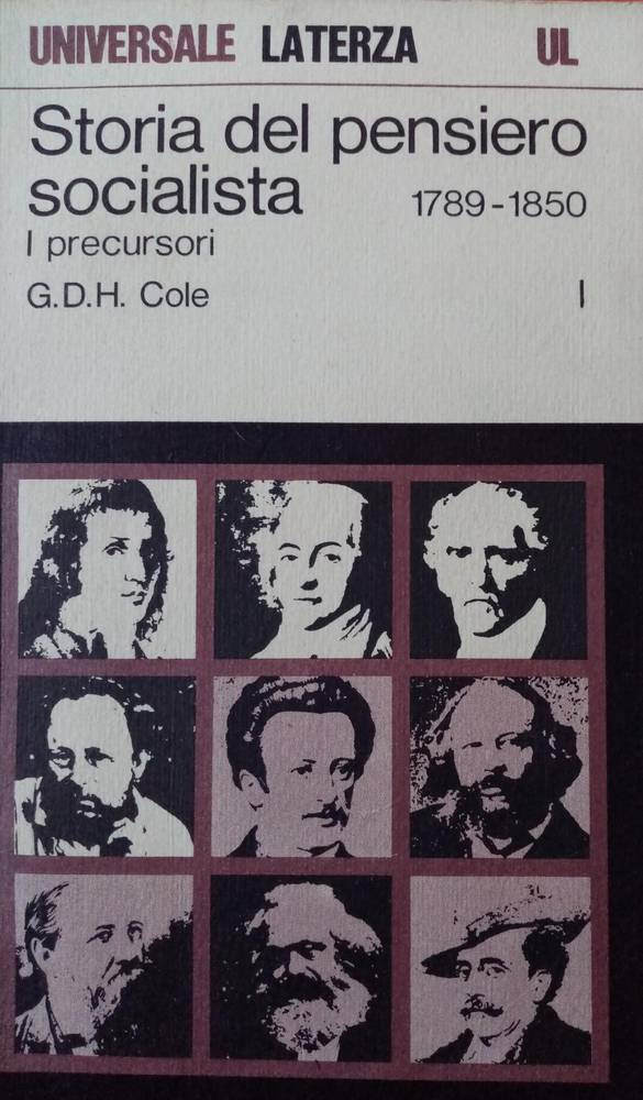 Storia del pensiero socialista I precursori, 1789-1850