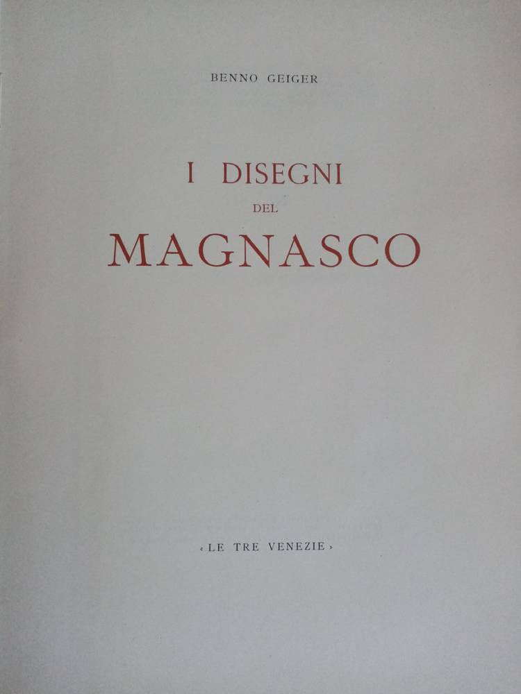 I disegni del Magnasco