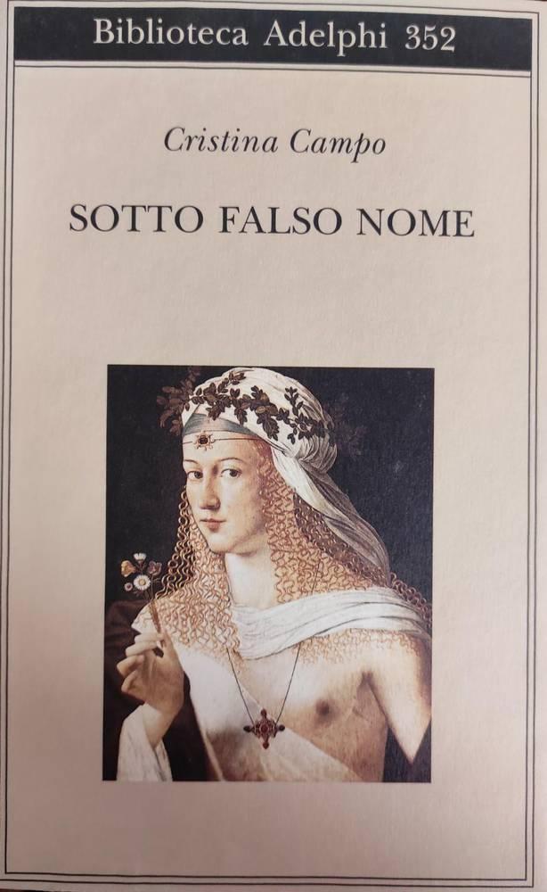 SOTTO FALSO NOME