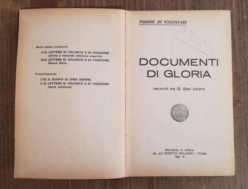 Documenti di gloria