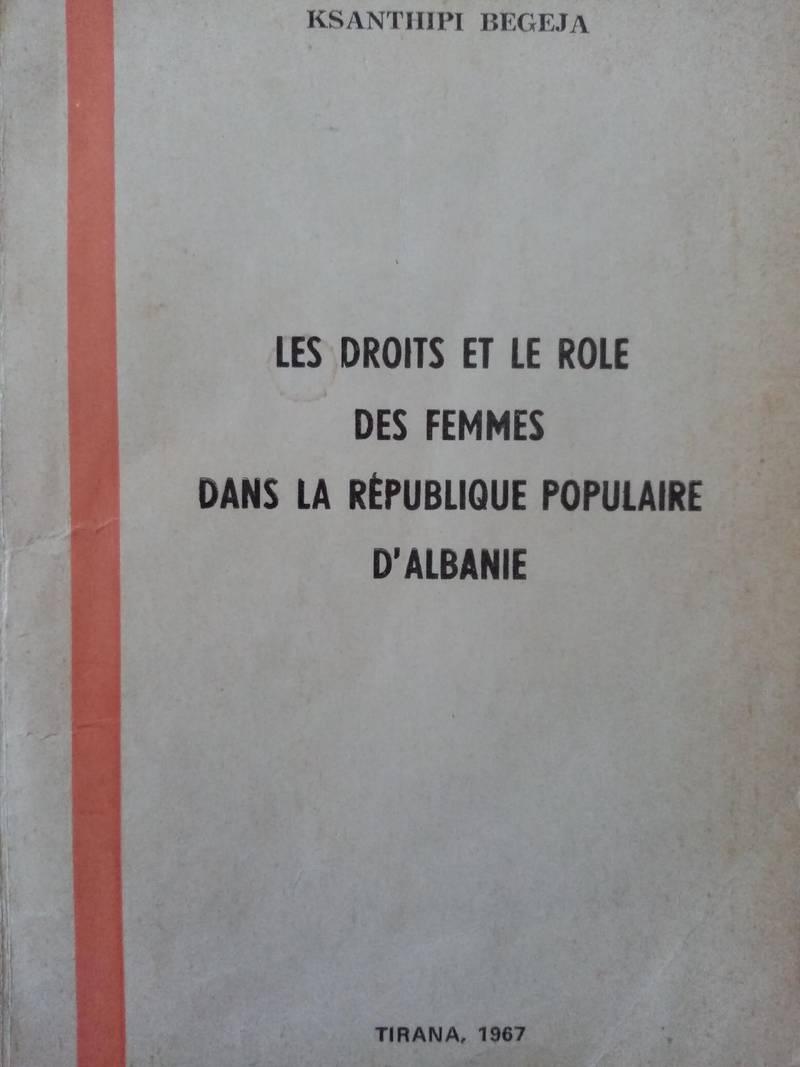 Les droits et le role des femmes dans la république populaire d'Albanie