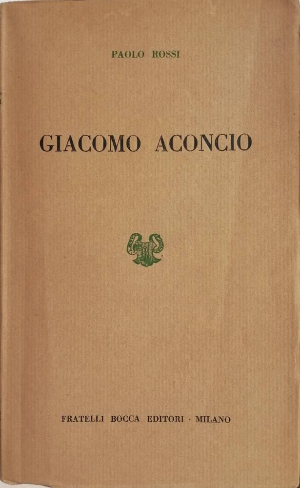 GIACOMO ACONCIO