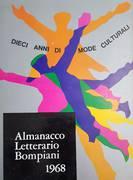 DIECI ANNI DI MODE CULTURALI ALMANACCO LETTERARIO 1968