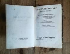 DICTIONNAIRE PORTATIF FRANCAIS-ITALIEN