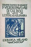 FUCILIERI PAULUCCI DI CABOLI NELLE LETTERE AD ALESSANDRA