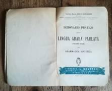 DIZIONARIO PRATICO DELLA LINGUA ARABA PARLATA (ITALIANO ARABO) CON GRAMMATICA SINTETICA