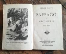 PAESAGGI E MACCHIETTE