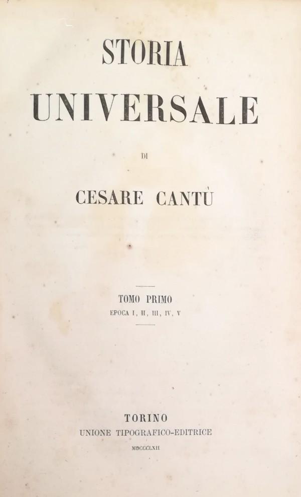 STORIA UNIVERSALE